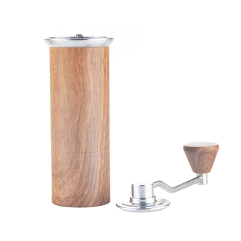 Ecocoffee  High Quality Manual Coffee Grinder 25g Aluminum Coffee Miller Black Mini Milling machine for V60  Single Coffee 6