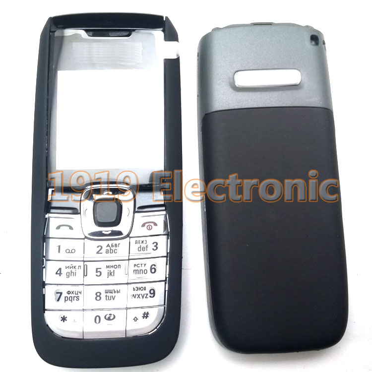 Case Nokia 2610 Mobile-Phone-Housing-Cover New Or English 2626--Tool Russian-Keypad Full-Complete