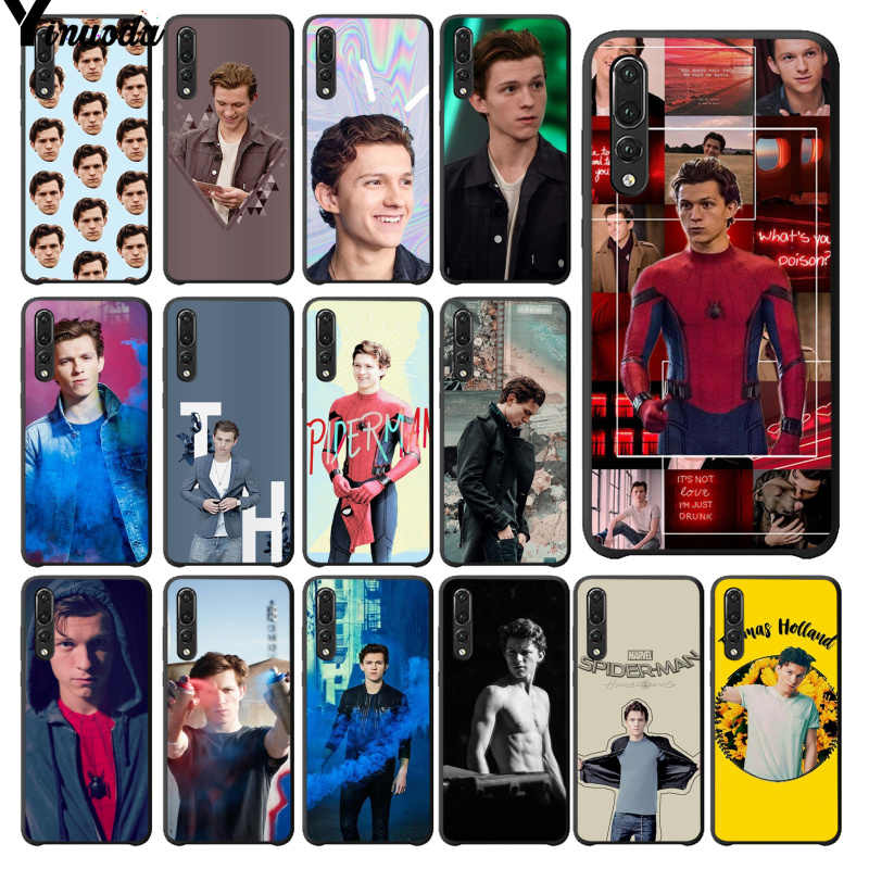 Yinuoda Tom Holland Soft Silicone Phone Case for Huawei P20Lite P10 Plus Mate10Lite Mate20 P20 Pro Honor10 View10