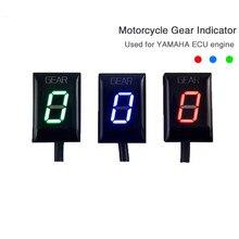 Индикатор переключения передач для мотоцикла с прямым креплением 1-6 скоростей для Yamaha FZ6 FZS 600 1000 MT-03 YZF R6 R1 TDM 850 900 WR250X XJ6