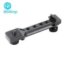 Bgning Uitbreiding Plaat Voor Zhiyun Weebill S Gimbal Koude Schoen Transmount Multi Functionele Microfoon Led Video Licht Beugel