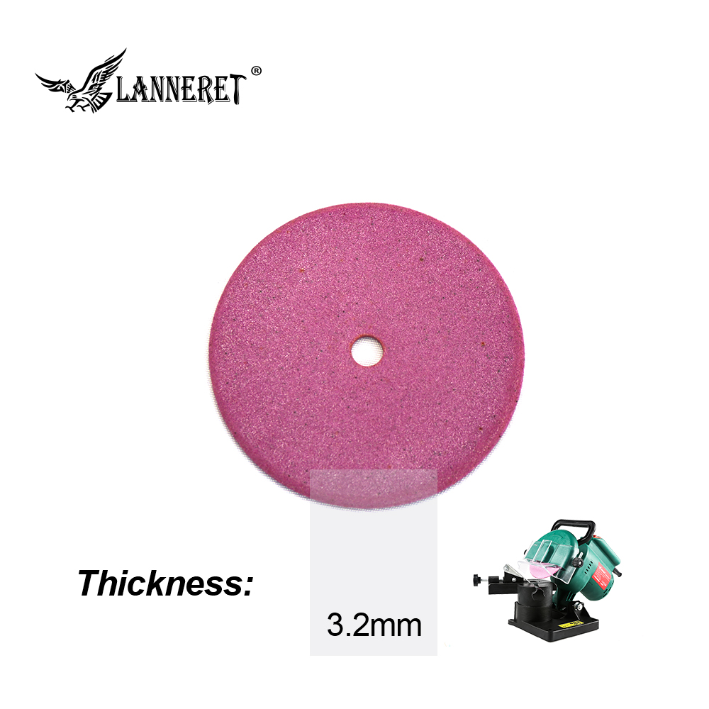 LANNERET 100mm Thick 3.2mm Diamond Grinding Wheel Electric Chainsaw Sharpener Cutting And Polishing Edge Of Chain Saw Teeth