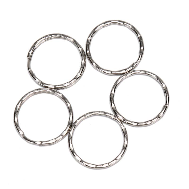 Wholesale 50pcs/lot Dia 25mm Polished Silver DIY Rings Hook Bag Quickdraw For Metal Bag Accessories