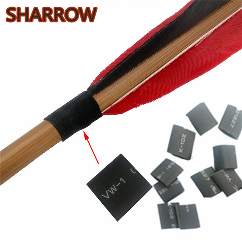 10Meter Archery Feather Protector Fletches Heat Shrink Tube Tubing For Arrow Shaft DIY Tools Arrow Outdoor Shooting Accessories