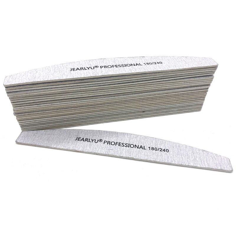 100 pçs lote Lavável Lixa de Unhas