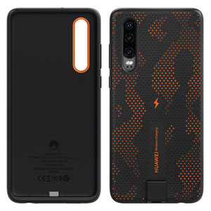 Image 2 - CNR216 UVT Qi 10W Original HUAWEI P30 Wireless Charge Case Magnetic Back Cover Supports Car Mount ELE L09/L29