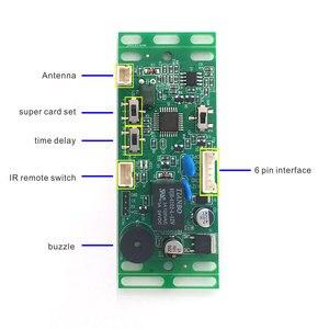 Image 2 - RFID EM/ID Embedded Door Access Control intercom access control lift control with 2pcs mother card 10pcs em key fob min:1pcs