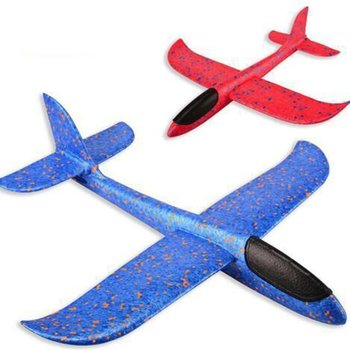 Led Form Airplane Hand Launch Throwing Glider Aircraft Inertial Foam EPP Airplane Toys Plane Model Outdoor Toys Educational kf606 2 4ghz rc airplane flying aircraft epp foam glider toy airplane 15 minutes flight time rtf foam plane toys kids gifts