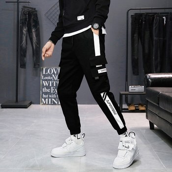 Men cargo pants 2020 new arrival spring and autumn pockets cotton letter male ankle-length pants teenager boys sale hot n61 men cargo pants 2019 new arrival spring and autumn black pockets plus size male ankle length pants korean style hot sale n07
