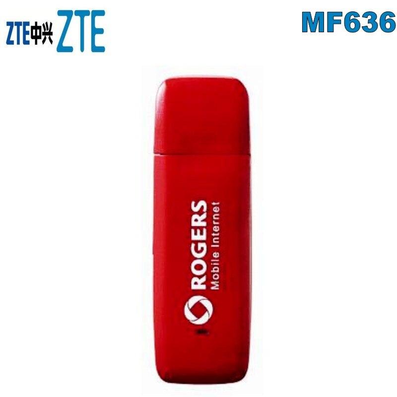 Modem USB ZTE MF636 WHITE Stick 3G HSDPA  Unlocked