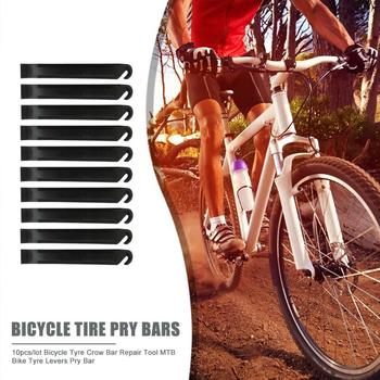 Hot Sale Bicycle Tire Pry Bars Classic Delicate 10pcs/lot Bicycle Tyre Crow Bar Repair Tool Mountain Bike Tyre Levers Pry Bar image