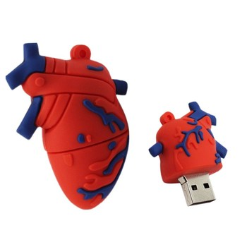 Mini Heart Brain Usb Flash Drive 32GB Pen Drive 128GB 256GB Memory Sitck U Disk 64G Pendrive 4GB 8GB 16GB Flash Disk Memoria Usb цена 2017
