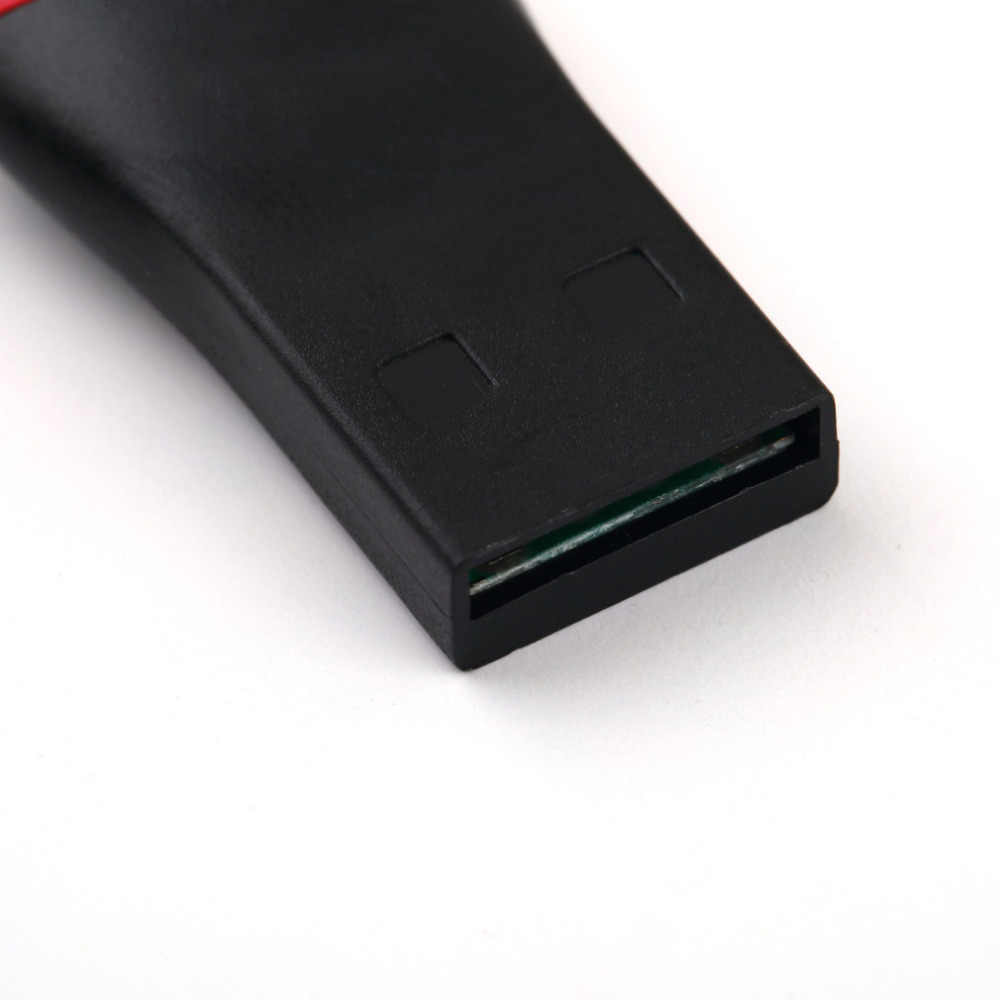 أفضل سعر 2 قطعة USB 2.0 مايكرو SD SDHC TF فلاش قارئ بطاقات الذاكرة محول صغير لأجهزة الكمبيوتر المحمول 0.35