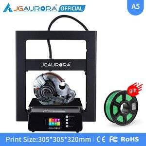 JGAURORA A5S drukarki 3D ulepszony zasilacz i druku z karty SD budować rozmiar 305*305*320mm