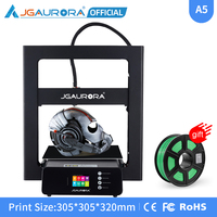 JGAURORA A5S 3D Printer Upgraded Power Supply and Print with SD Card Build Size 305*305*320mm