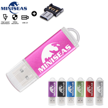 Miniseas mini USB Flash Drive Real Capacity High speed 8GB 16GB 32GB Pen Memory Stick Pendrive  For PC
