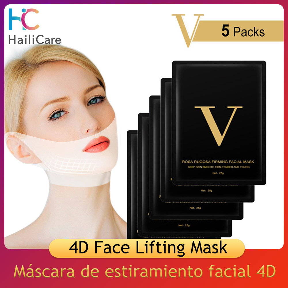 V Line Mask 4d Face Lifting Mask Miracle V-shaped Slimming M…