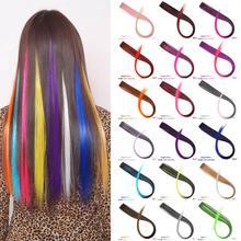 WEILAI, 37 цветов, накладные повязки для волос, повязки для женщин, детей, девочек, Синтетические длинные прямые синтетические заколки для волос волосы волосы на заколках волосы для наращивания