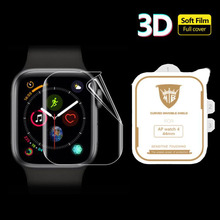 3D Hydrogel Film Full Edge Cover Soft Screen Protector Protective For iwatch Apple Watch Series 2/3/4/5/6/SE 38mm 42mm 40mm 44mm