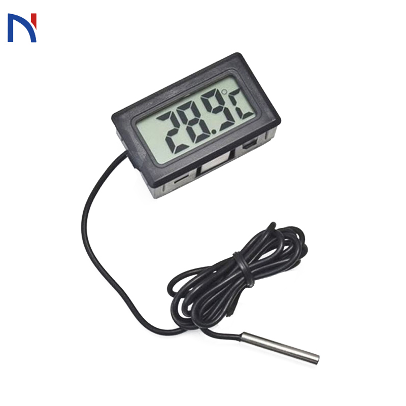 Digital Thermometer Fridge Freezer Temperature Meter Mini Digital LCD Temperature Meter Electronic Thermometer Sensor Tester