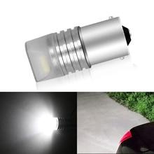 цена на 1pcs auto blink light Lamp Bulb DC12 red white Auto Tail Stop Light 1157 led BAY15D P21/5W t20 7443 strobe flash light brake