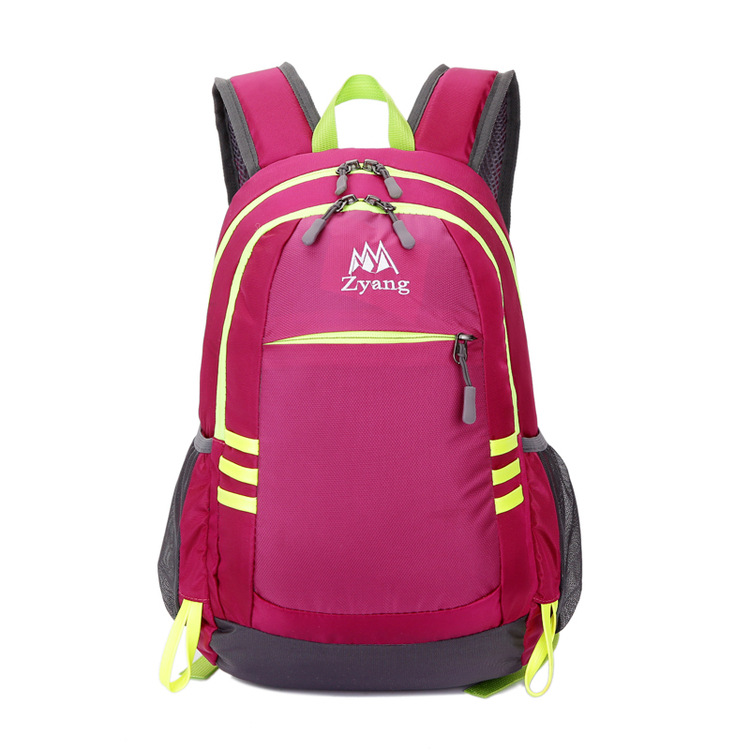 New Style Korean-style Fashion Backpack Outdoor Nylon Mountaineering Bag Casual Hiking Travel Bag Waterproof School Bag