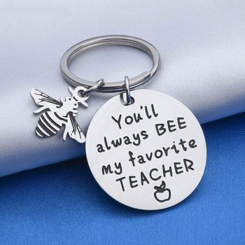 2020 Teacher Retirement Gifts Appreciation Keychain Thank You Gift for Coaches Mentors Boss Teaching Assistance from Student image