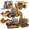 Rc Car 2.4G Wireless Remote Control Engineering Vehicle Electric Forklift Bulldozer Excavator Model Toy Remote Control Car