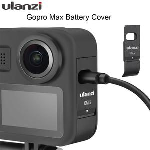Image 1 - Ulanzi GM 2 Gopro Max Battery Cover Detachable Battery Lid Type C Charging Port for GoPro Max Accessories