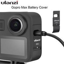 Крышка аккумулятора Ulanzi для Gopro Max, крышка со съемной крышкой для аккумулятора типа с, зарядный порт для аксессуаров GoPro Max