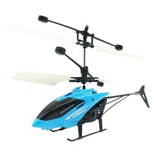 Mini Drone Flying Helicopter Infraed Induction Drone Kids To