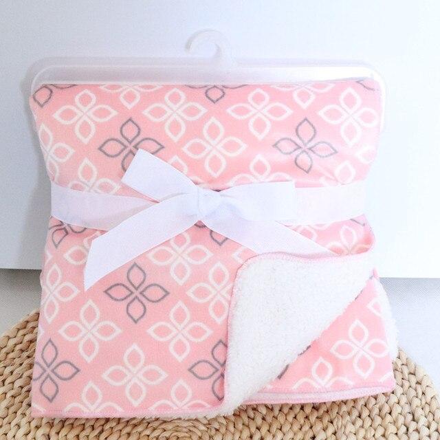 Fleece Double Layer Baby Blanket 4