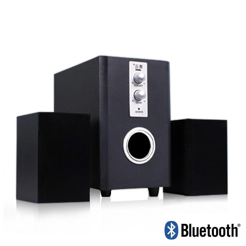 Combination Bluetooth Wireless Speake Subwoofer Stereo Bass PC USB Computer Speakers Support TF Card U Disk SADA Q1