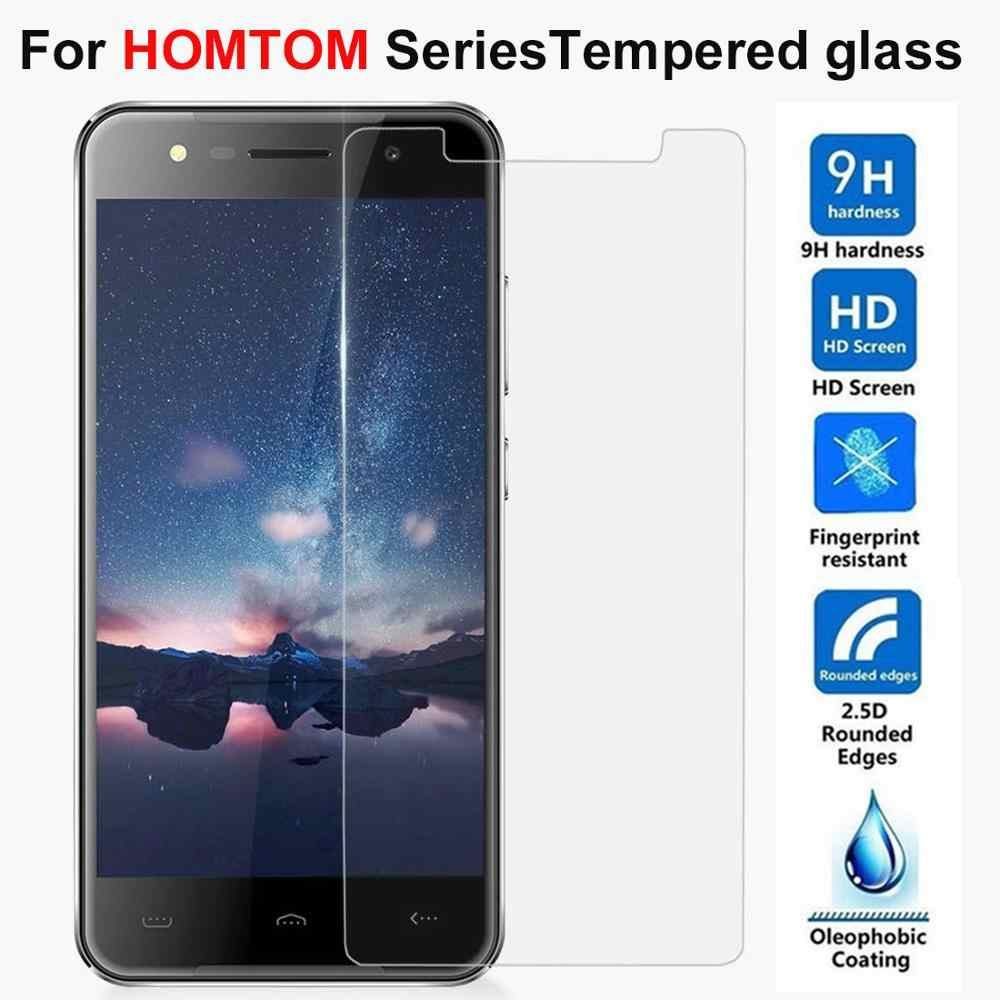 2.5D 9H Tempered Glass For HomTom H5 H6 S8 S16 Screen Protector HomTom H50 HT5 HT7 HT8 HT16 HT37 HT20 PRO Protective Film Glass