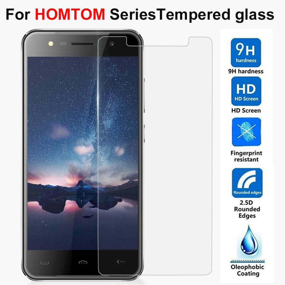 2.5D 9H Tempered Glass For HomTom H5 H6 S8 S16 Screen Protector HomTom H50 HT5 HT7 HT8 HT16 HT37 HT20 PRO Protective Film Glass(China)