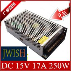 Импульсный источник питания 15V17A 15V 17A 250W, 15V250W 15V17A 15V 250W S-250-15