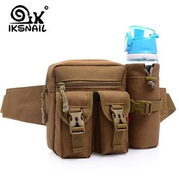 IKSNAIL Waist Tactical Bag Bolsa Tactica Militar Waterproof Outdoor Military Bag Sac Militaire Hiking Army Bags Bolsa MilitarMen