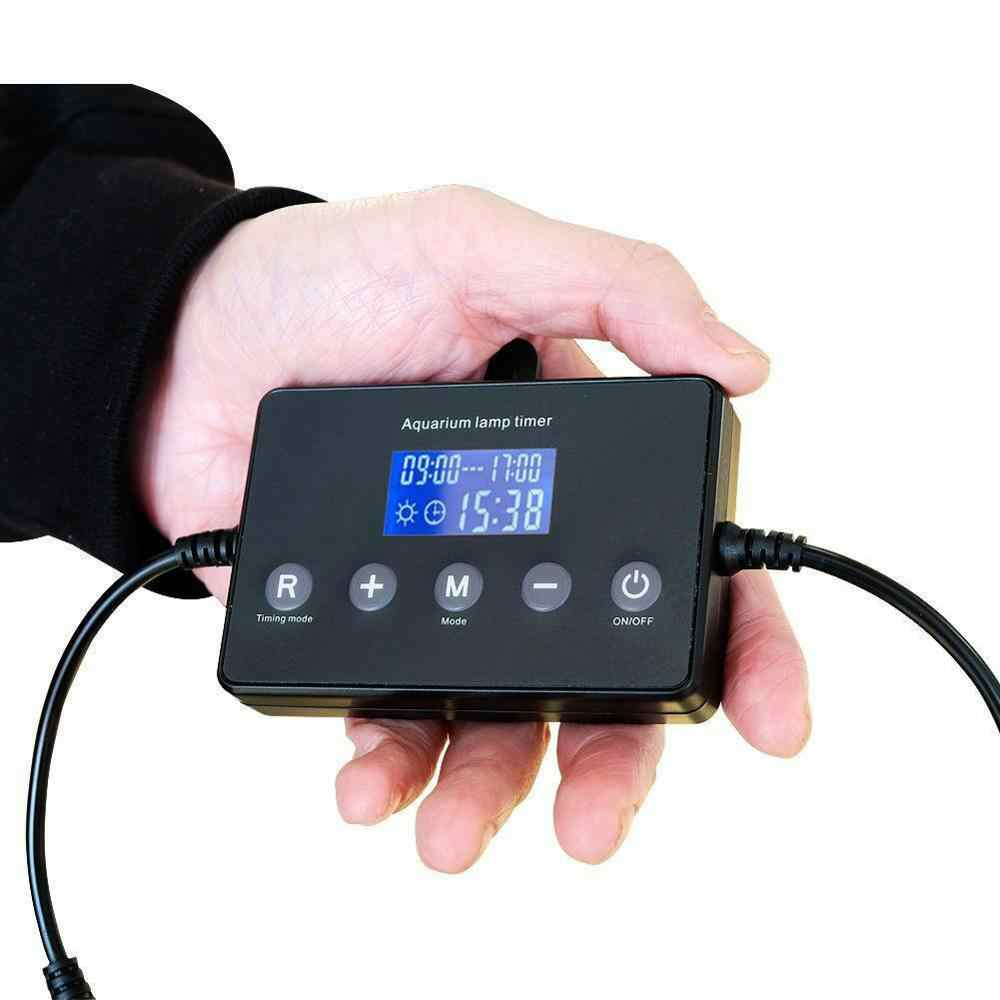 SNOWINSPRING Temporizador de Luz Led Inteligente de Acuarios Controlador Modulador de Atenuaci/ón Regulador y Atenuador de Luz para Pecera