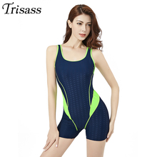 Swimsuit Monokini Push-Up Sports Women New-Arrival Trisass for Shark Boxers with Padding