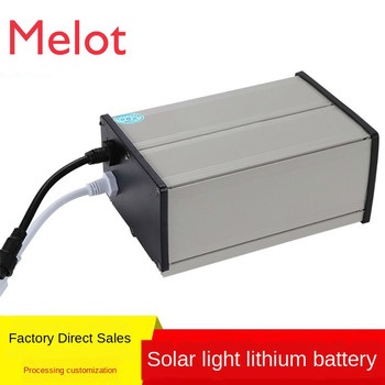 Energy Storage 12V Lithium Battery Solar Street Lamp Waterproof Case 24V Street Lamp Monitoring Lithium Battery Kit Hot 11 1v 3a lithium battery solar street lamp lawn lamp wall lamp spotlight light operated controller circuit board