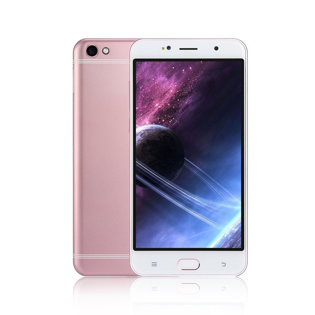 6 Inch Smartphone 1GB RAM + 8GB ROM 2800mAh MTK6580A Quad-core 1.3GHz Processor Dual SIM For Android 6.0 Mobile Phone