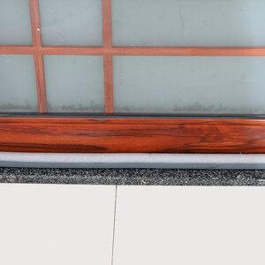 Image 5 - 93cm barato selo da porta de segurança isolamento acústico inferior selo rascunho rolha à prova vento dustproof selo filme mobiliário ferragem