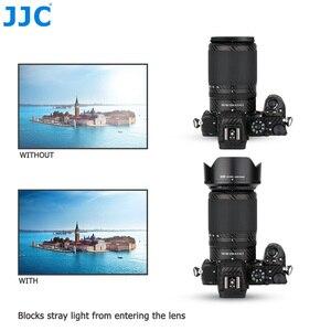 Image 4 - JJC 花びらスタイルバヨネットレンズフードニコンニッコール Z DX 50 〜 250 ミリメートル f/4.5 6.3 VR レンズニコン Z50 置き換え HB 90A レンズ