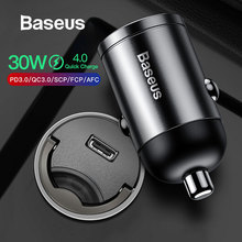 Baseus Mini Car Charger PD 3.0 Fast Charger