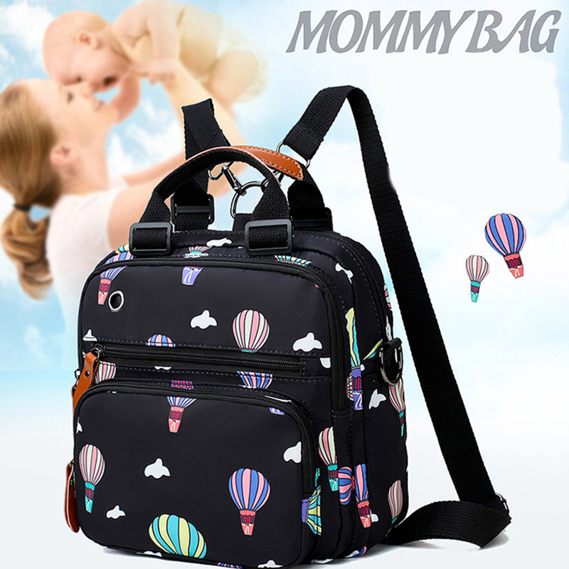 Fashion Mummy Maternity Nappy Bag Large Capacity Nappy Bag Travel Backpack Nursing Bag For Baby Care Women's Wetbag Backbag
