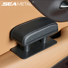 Reposabrazos para coche, soporte ajustable para codo, reposabrazos Universal para puerta, antifatiga, cojín de descanso de manos, Mini caja de cuero, Universal