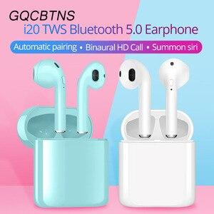 I21 i20 TWS Беспроводная гарнитура Bluetooth 5,0 наушники мини стерео i16 вкладыши i9s спортивные наушники pk i12 i9000 tws i200 для телефонов