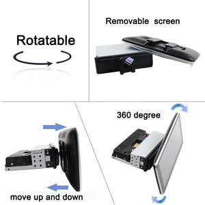 Image 3 - Автомагнитола 1 din, 2 + 32 ГБ, Android 9,1, DSP, IPS, поворотный, для 360 градусов, универсальный, для аудио, видео, DVD, 4G, Wi Fi