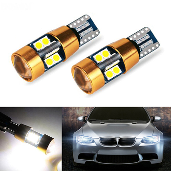 2X New Car LED T10 Canbus W5W No error Wedge Light For BMW E46 E39 E91 E92 E93 E28 E61 F11 E63 E64 E84 E83 F25 E70 E53 E71 E60 image