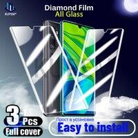 Protector de pantalla de vidrio templado para móvil, película protectora de cristal para Xiaomi Mi 10 Pro, Note 10, 9, 9T, A3, A2 Lite, 9 SE